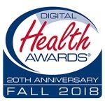 Oshi Inflammatory bowel disease app, Digital Health Awards logo, winner