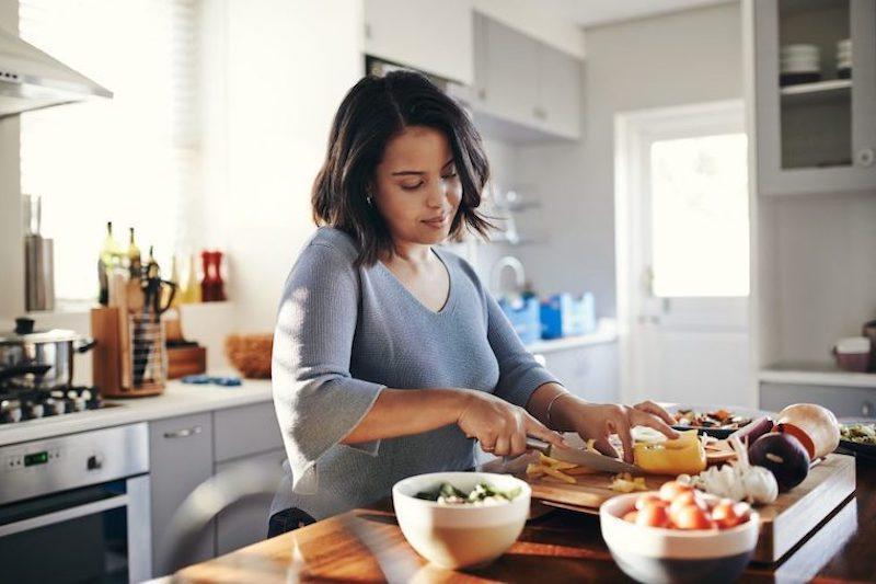 Preparing food for a healthy Crohn's diet